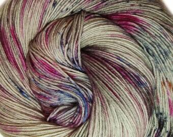 hand dyed yarn SCANDAL pick your base - sw merino bfl silk nylon stellina fingering dk