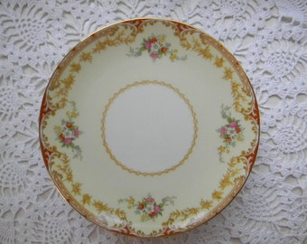 4 Antique Noritake China, LISMORE 98836, 4 Dessert Plates, 1935