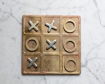 Executive Classics The Brass Game Tic Tac Toe