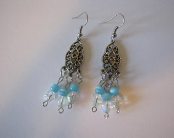 Dangle earrings/bead earrings, drop earrings
