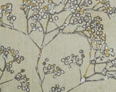 Cotton Fabric By Yard- Nordic Blossom- Scandinavian Design- Professional Print- For Curtains, Roman Blinds, Pillow covers etc.