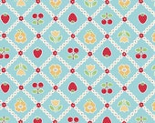 Bake Sale C3432 Blue of Lori Holt by Bee In My Bonnet for Riley Blake/Fabric by the Yard/Fabric by The Half Yard/Fat Quarter/PRICES VARY