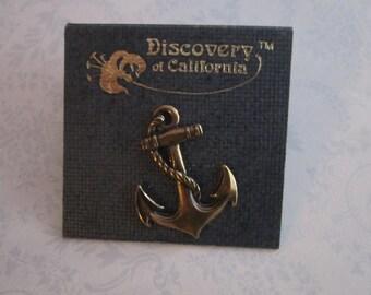 Vintage anchor tack pin