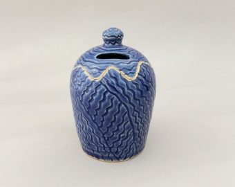 Ceramic Bank - Pottery Tzedakah -  Charity Box