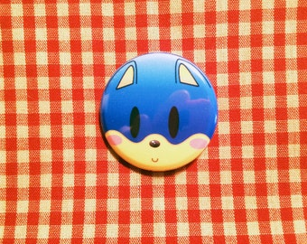 Sonic the Hedgehog Button