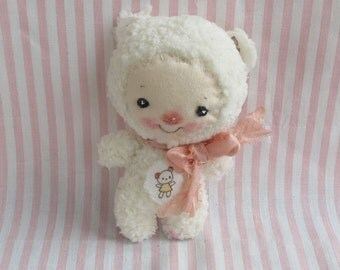 Baby soft  plush lamb doll