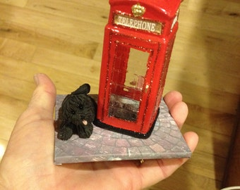 London phone booth ornaments (2)