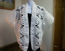 White Spider Lacy Jacket