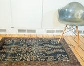DISCOUNTED 3x4.5 Antique Farahan Sarouk Rug