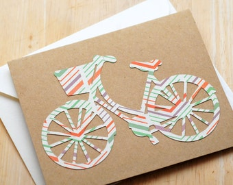 Bicycle Greeting Cards // Blank Cards // Thank You Card // Love Note // Just Because // Thinking of You // Stationary Set