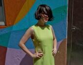 Vintage Neon Shift Dress