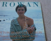 Rowan  Cotton braid collection knitting pattern book