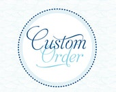 Custom order Lindsay - Waves Invitation