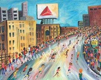 Kenmore Square- Boston Marathon