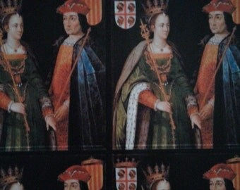 Isabella and Ferdinand of Spain Giftwrap