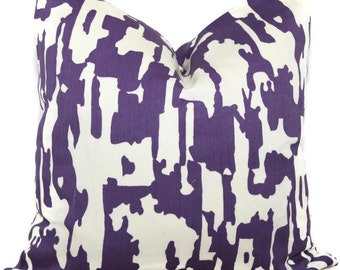 Trina Turk Purple Bark Pillow, Square or Lumbar, Choose your color  Indoor Outdoor Pillow Cover, Schumacher Lumbar Pillow