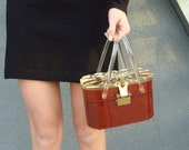 Lucite toolbox purse