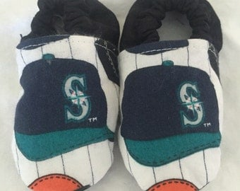 Seattle Mariners Baby Shoes