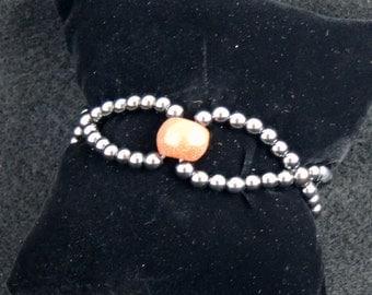 Bypass Fashion Magnetic Hematite Bracelet