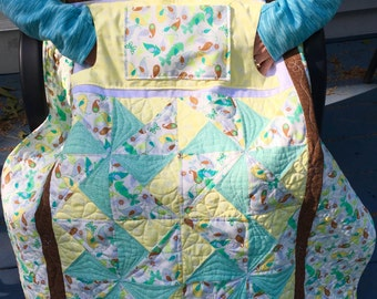 Pattern For Lovie Lap Quilt With Pockets By Carolyndiperri