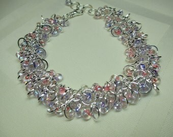 Cha Cha Bracelet in Pink and Lilac