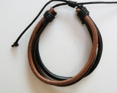 genuine leather bracelet three color