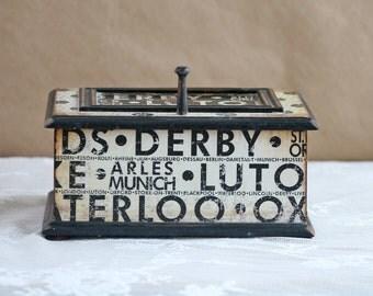 keepsake box, decorative box, black and white, rustic chic, gift box