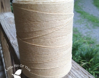 BULK • 800 Yards Total • Solid  Baker's  Twine / String • 100% Cotton • Eco Friendly • Gift Wrap • Bakery String  • Made In USA • Pear
