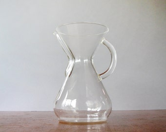 Vintage Chemex Coffee Maker / Carafe - 40 Ounce / 8 Cup Handle Series