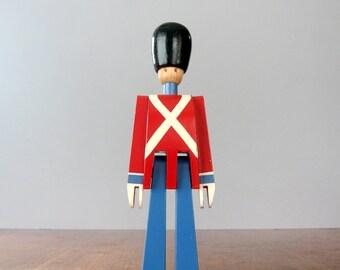 Kay Bojesen Danish Modern Wooden Toy Soldier