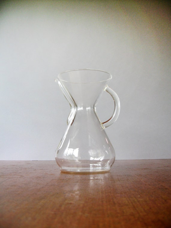 Vintage Chemex Coffee Maker / Carafe 40 Ounce / 8 Cup Handle