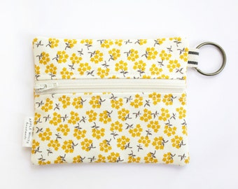 Coin Purse, Zipper Pouch, Wallet, Student Id, Key Ring, Gift Idea, Business Card Holder, Credit Card Case, Gift Card Holder