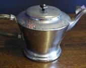 1920 art deco chrome plate tea pot large size
