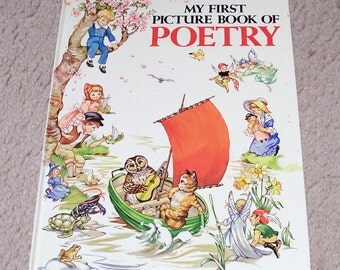 My First Picture Book of Poetry Childrens Book - Rene Cloke