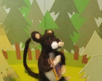 Reading Woodland Mouse