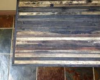 Reserve for Teri - Barnwood Coffee table