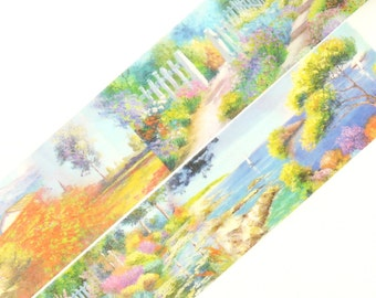 Top of the Lake - Japanese Washi Masking Tape - 35mm wide - 11 Yards