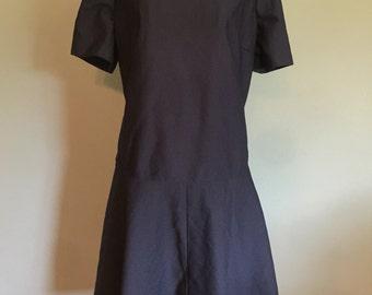 PLUS SIZE Custom Vintage Dress, size L/XL
