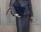 Royal Tea for Gene and Friends, 16 inch fashion dolls, OOAK Fashion