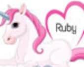 Unicorn memory box for Ebony