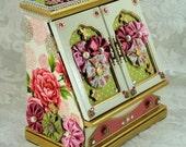 Fabric Covered Jewelry Box