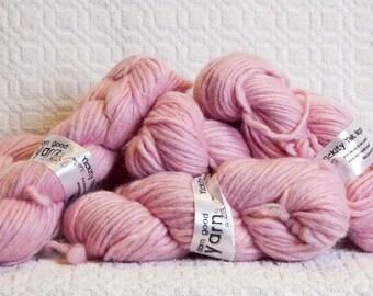 Yak Yarn in Pretty Pink
