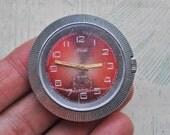 Vintage Soviet wrist watch for parts.Didn't work.
