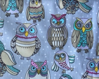 Breastfeeding nursing cover like hooter hider vintage owls cool  cool cotton