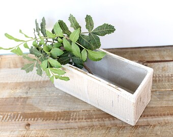 Ceramic Rectangle Pot, Handmade Rectangle planter, Stoneware Pottery planter, Handbuilt Ceramic pot, Handbuilt Rectangle planter.