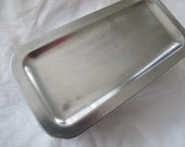 Vintage Revere Ware Stainless Steel Refrigerator Storage container / Stainless Steel box