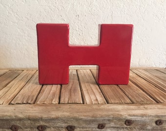 Industrial Red Metal I or H