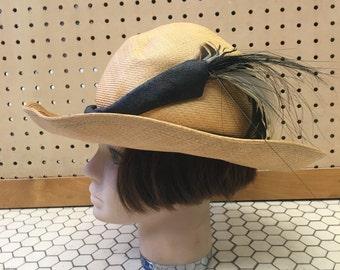 Mr.  John Straw Summer Hat