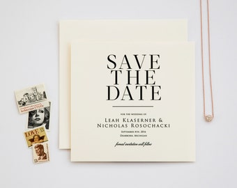 Lovely in Lux Save the Date