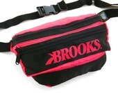 Rare 90s Neon Brooks Extreme Activewear Fanny Pack - 26 to 42